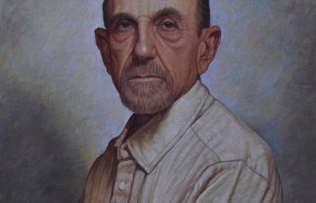 color drawing of a middle aged man named Howard