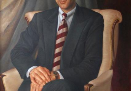 oil painting of Stephen g anderson